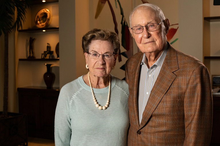 Sidney and Lois Eskenazi