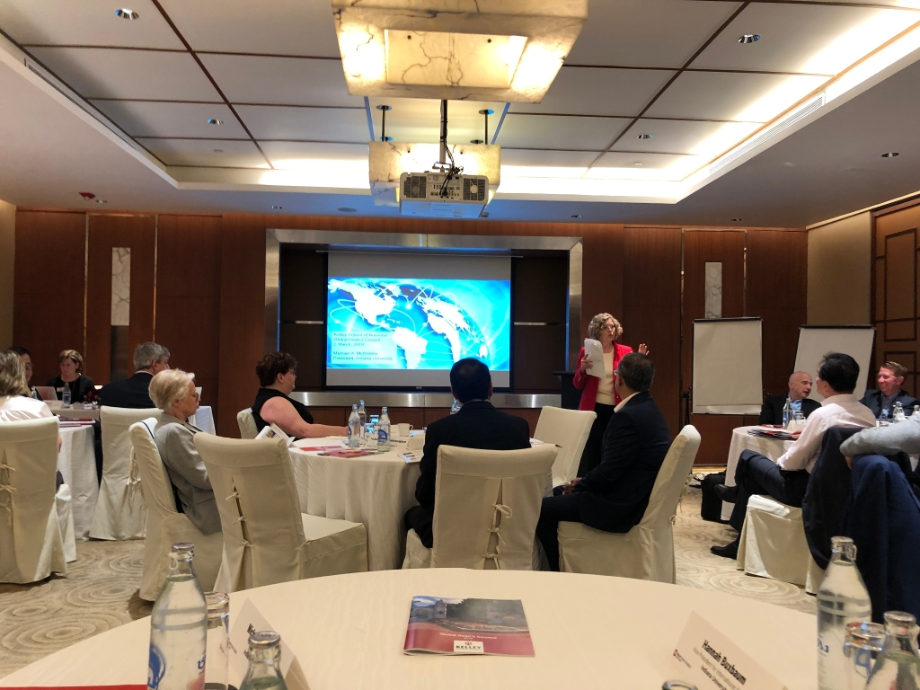 Kelley Global Dean's Council meets in Bangkok, Thailand.