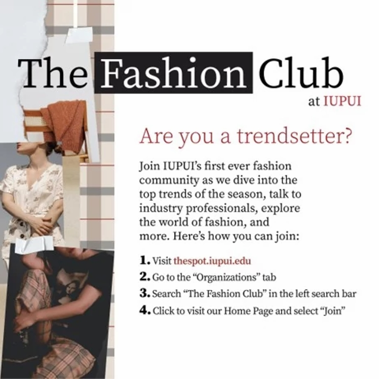 iupui fashion club graphic