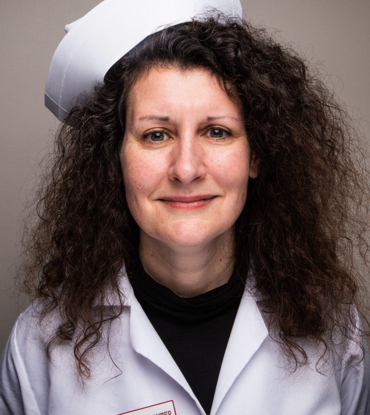 Nurse Marcey Tidwell.
