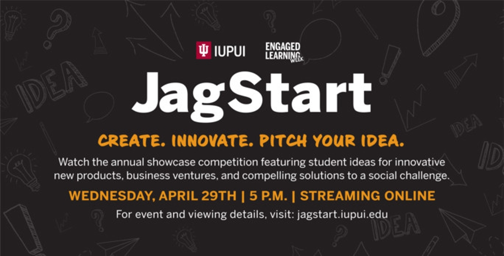 Promotional signage for this year's JagStart.
