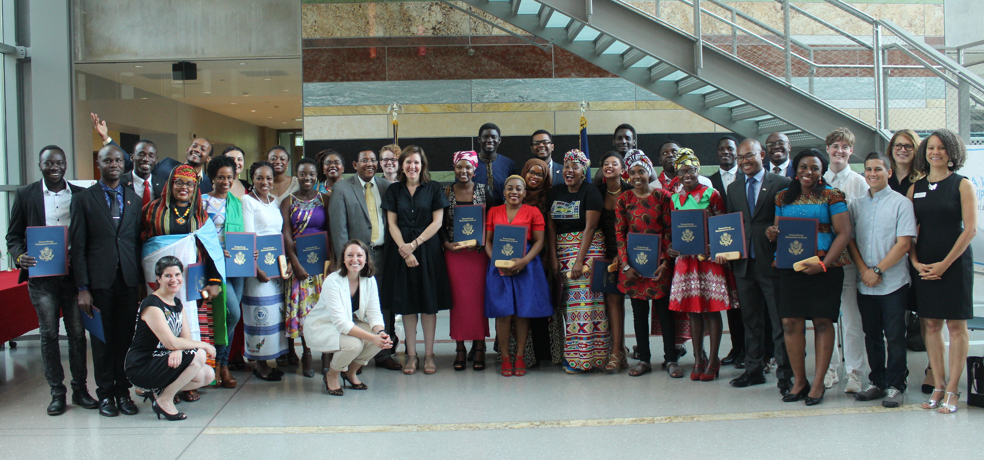 2019 Mandela Fellows