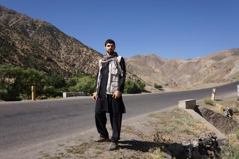 Noah Arjomand in Afghanistan