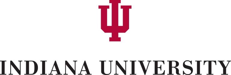 Indiana University logo with trident