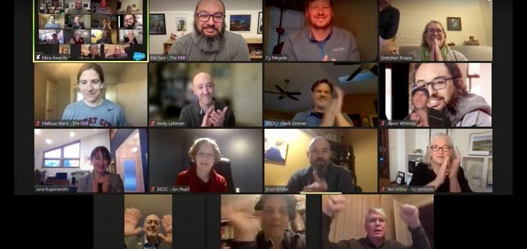 A screenshot of a Zoom meeting
