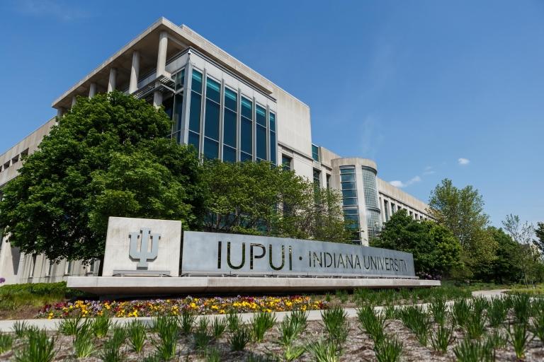 IUPUI sign