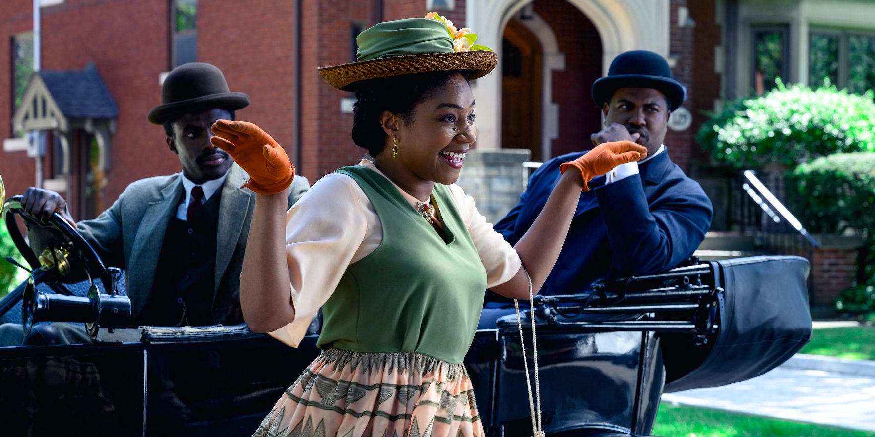 Tiffany Haddish plays Lelia, Madam C.J. Walker's daughter