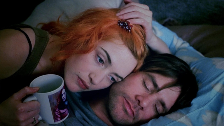 "A still from the film ""Eternal Sunshine of the Spotless Mind."""