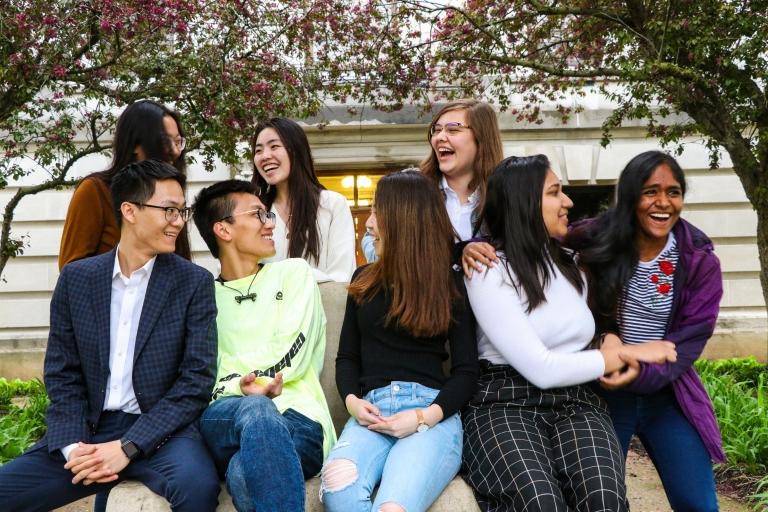 International students at IU