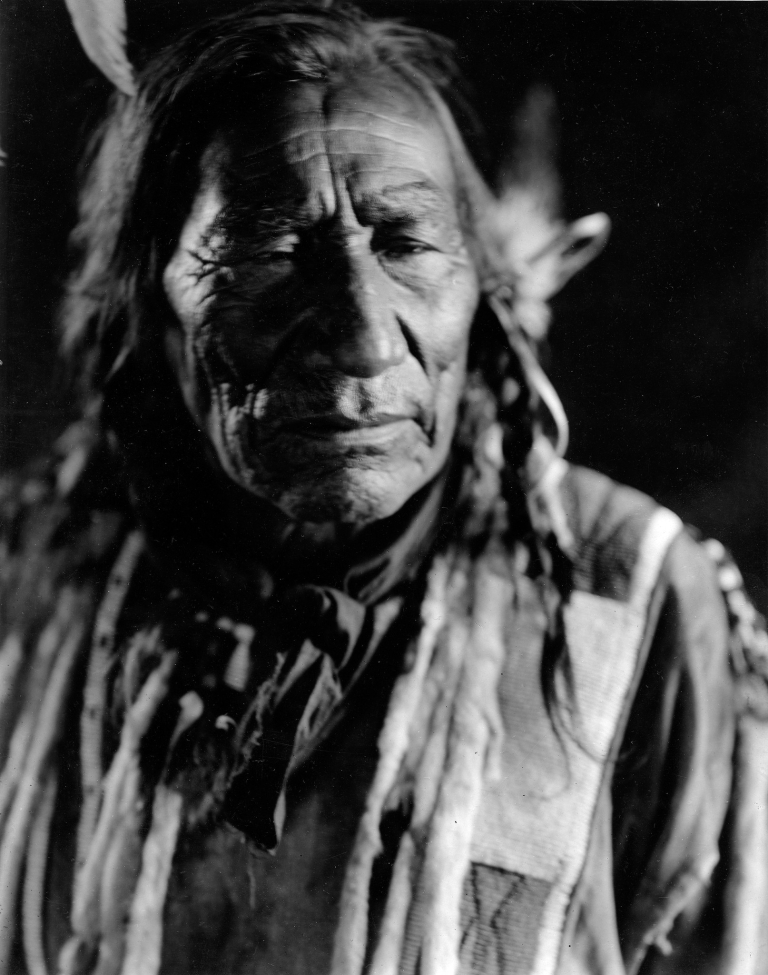 An Assiniboine man from 1913