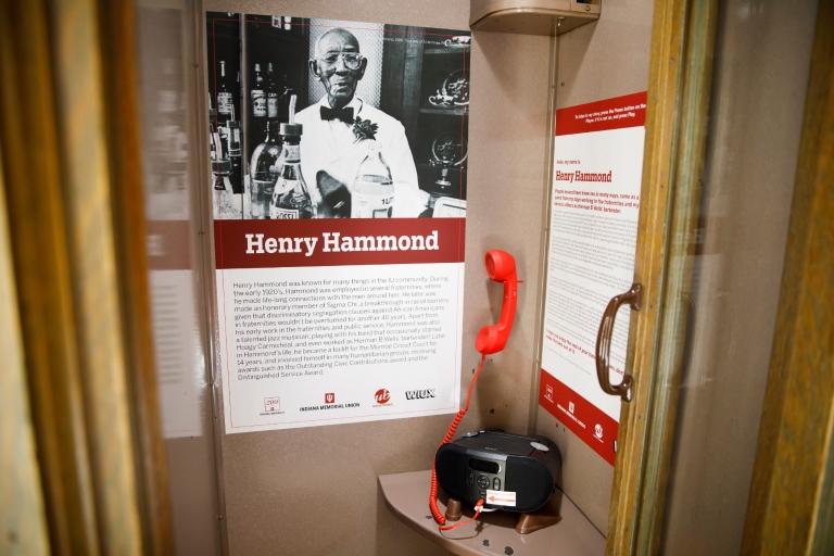 Henry Hammond's Hidden Hoosier booth
