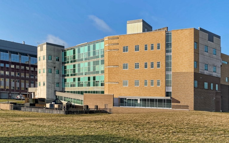 The Dunlap building on the IUPUI campus