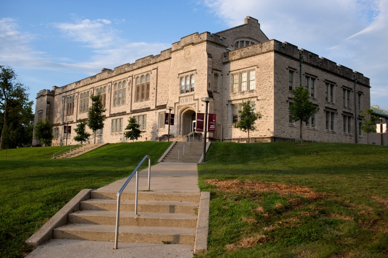 Exterior of the IU School of Public Health-Bloomington