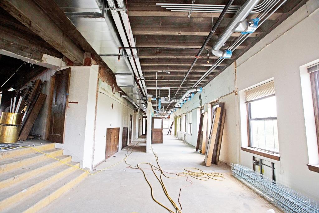 A look inside Madam Walker Legacy Center under construction