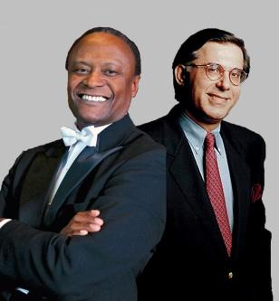 Thomas Wilkins (left) and Arnaldo Cohen (right)