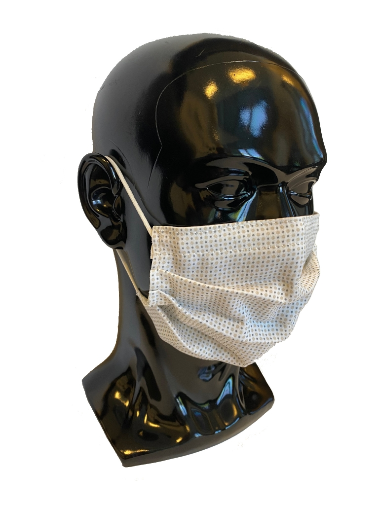 An example of the antiviral face mask