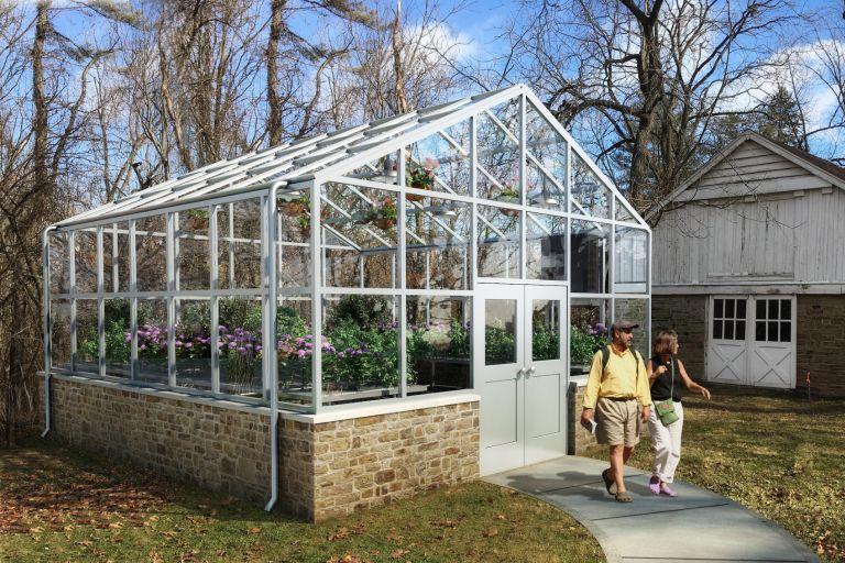 Rendering of a greenhouse being built at IU Kokomo