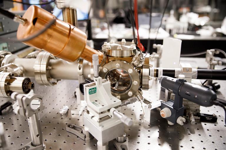 An ion trap quantum simulator