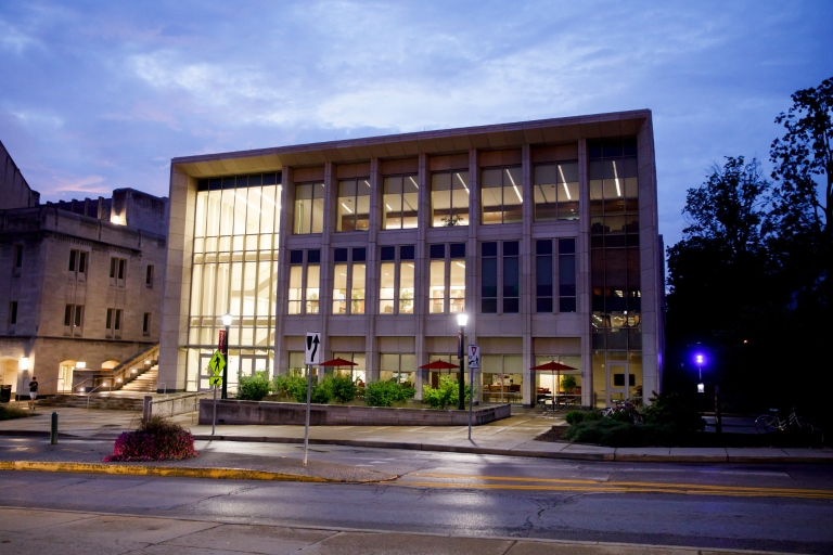 The Paul H. O'Neill Graduate Center at the IU O'Neill School of Public and Environmental Affairs