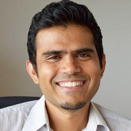 Headshot of Vikram Jadhao