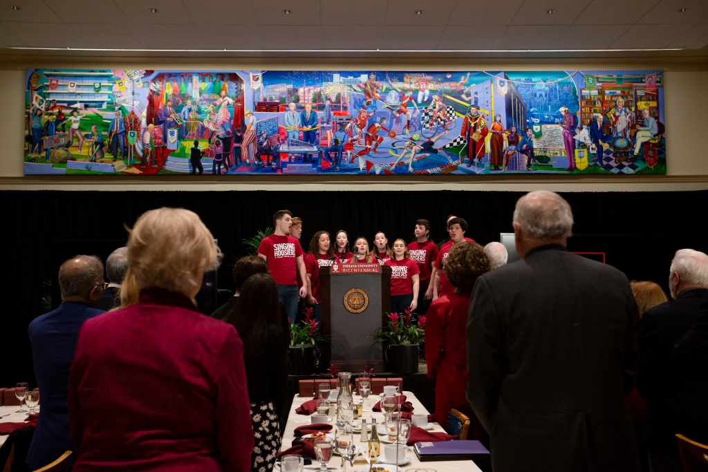 200th Anniversary Bicentennial Mural Dinner at Wright Quad
