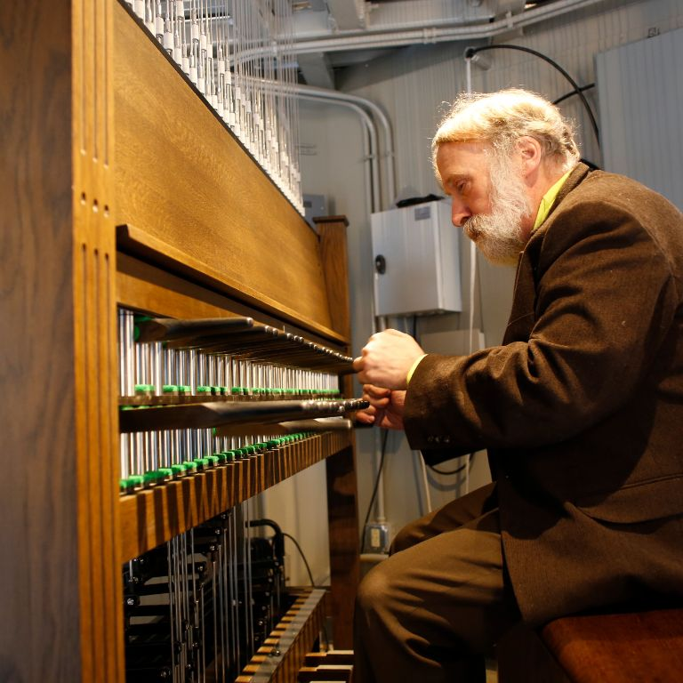 John Gouwens plays the new Metz Bicentennial Grand Carillon
