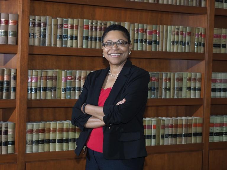 McKinney School of Law dean Karen Bravo