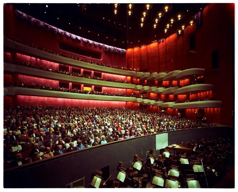 Interior of Musical Arts Center