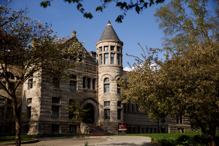 Maxwell Hall on the IU Bloomington campus