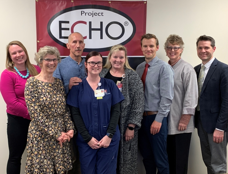 ECHO Center staff
