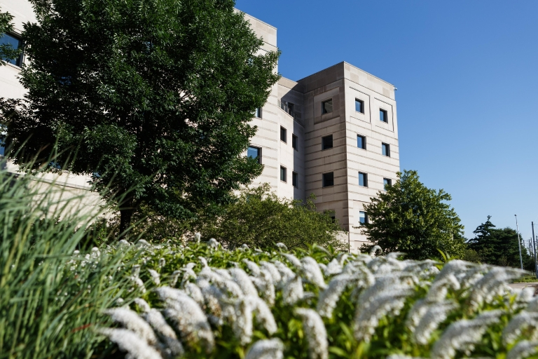 The outside of the Informatics and Communications Technology Complex